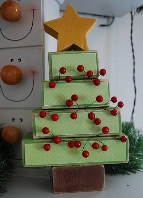 Manualidades navidad con fieltro velboa pie arbol car - Manualidades con fieltro para navidad ...