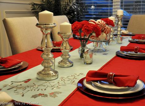 Decoraci n de la mesa de navidad - Mesa para navidad decoracion ...