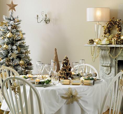 Decoraci n de la mesa de navidad - Decoracion mesa navidad ...