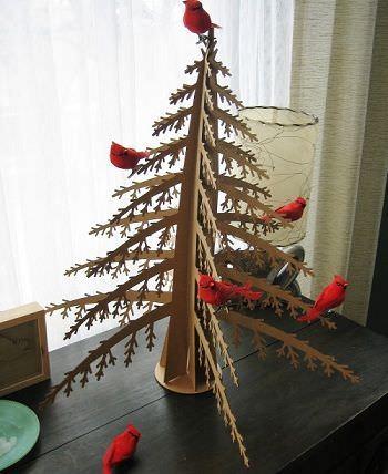 arboles navidad originales retro