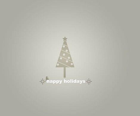 fondos de pantalla de navidad minimalista