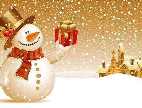 fondos de pantalla navidad muñeco
