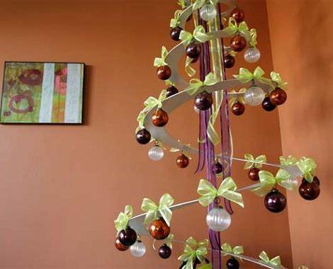 Manualidades de navidad f ciles - Manualidades de arboles de navidad ...