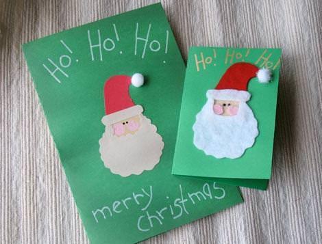 Postales De Navidad Hechas A Mano Originales. Postales De Navidad ...