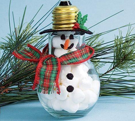 Adornos de navidad reciclados - Adornos navidad reciclados para ninos ...