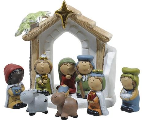 D nde comprar las figuras del bel n de navidad 2013 - Figuras jardin leroy merlin ...