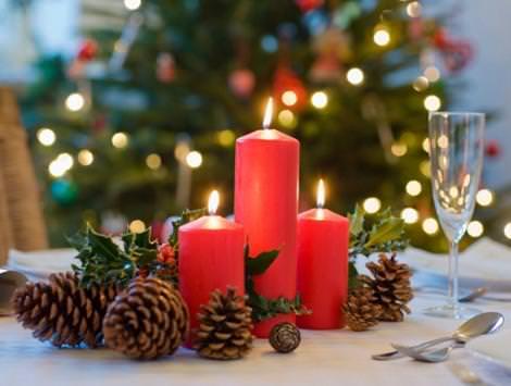 decoracin casera de navidad