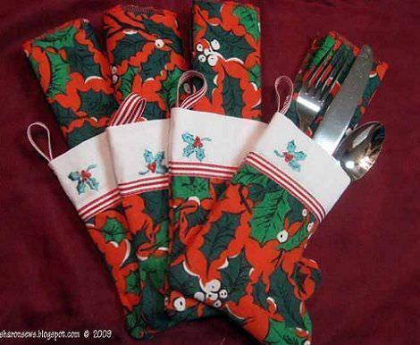 Decorar la mesa en navidad servilletas - Decorar la mesa en navidad ...
