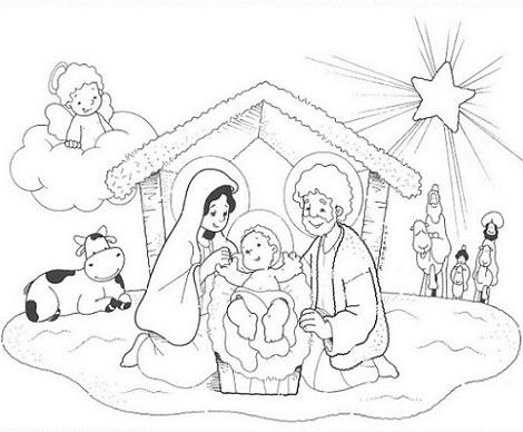 Dibujos nacimientos - Imagui