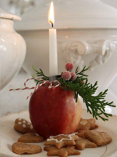 Centros de mesa originales y f ciles para navidad - Centros de mesa caseros ...