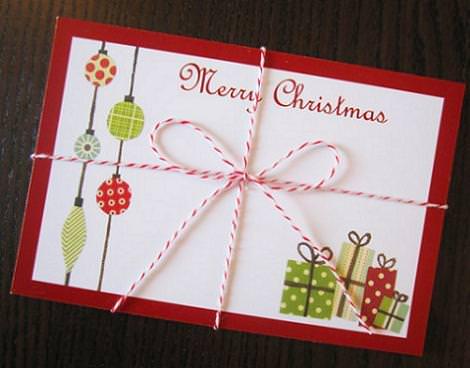 Tarjetas de navidad - Como hacer tarjeta de navidad ...