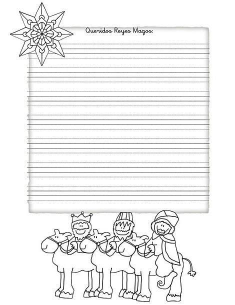 Cartas de los Reyes Magos para imprimir