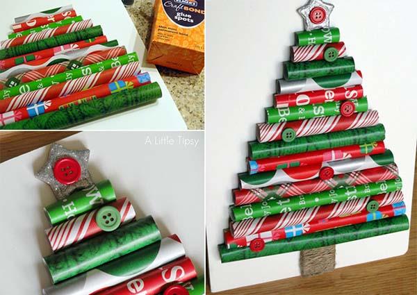 Ideas para hacer un árbol de Navidad original