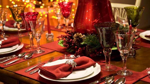 Consejos para decorar la mesa de navidad - Como decorar la mesa de navidad ...