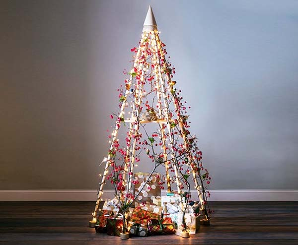 Diferentes propuestas para decorar un rbol de Navidad