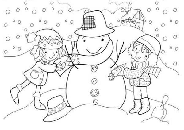 Tarjetas de navidad infantiles para colorear - Dibujos postales navidad ninos ...