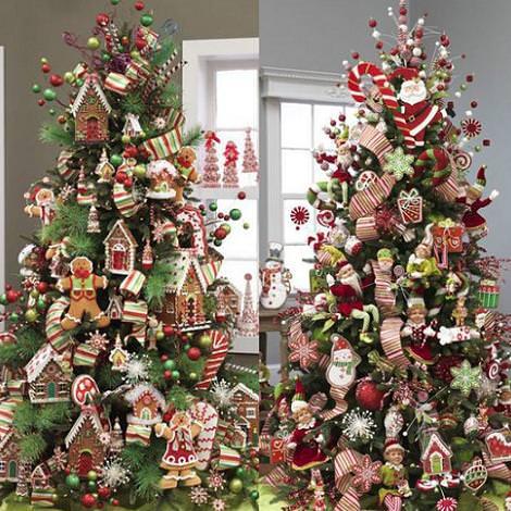 V deos decoraci n del rbol de navidad - Adornos para arbol navidad ...