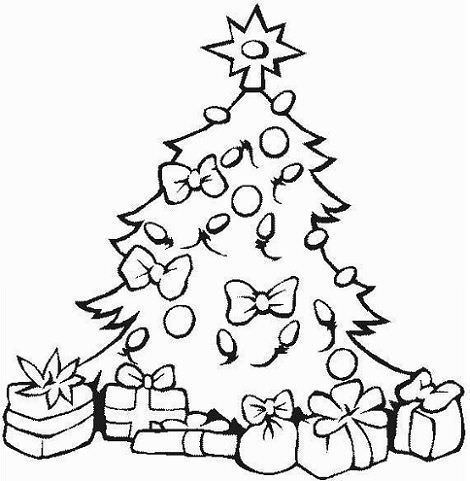 dibujos navidad arbol