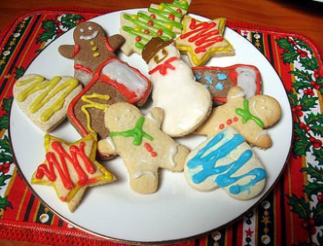 postres navidad galletas
