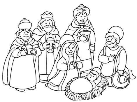 Reyes Magos en el Belén