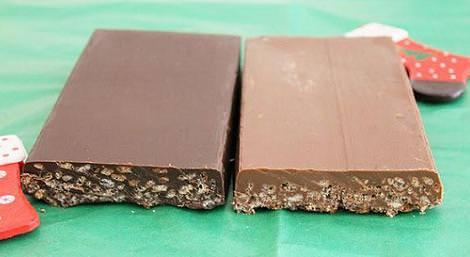 turron chocolate navidad