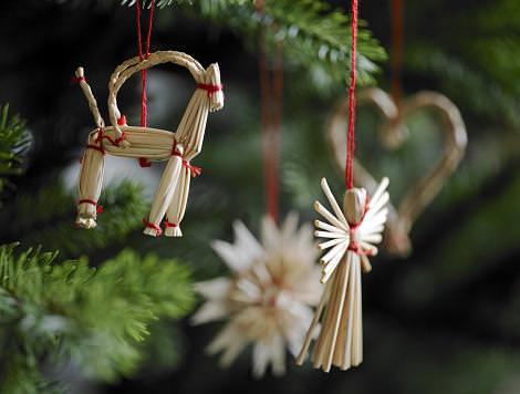 Adornos originales de Navidad