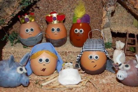 Belén huevos