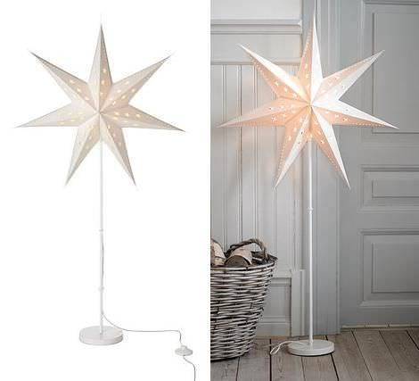 decoracion iluminacion navidad lamparas