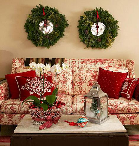 decorar navidad salon