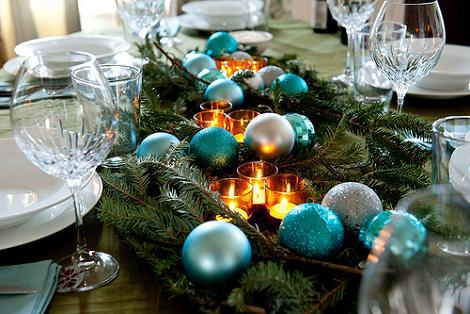 C mo poner la mesa de navidad - Como poner la mesa en navidad ...