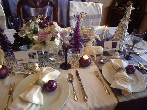 mesa navidad