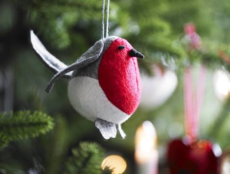 Pajarito de Navidad