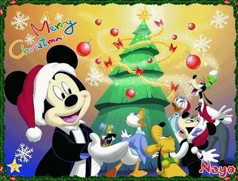 postales navidad gratis disney