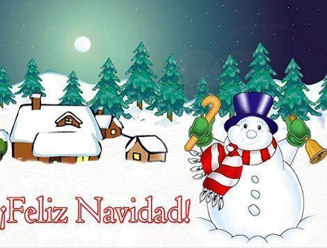 postales navidad gratis muñeco