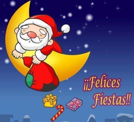 postales navidad gratis papa noel