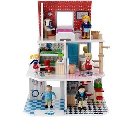 regalos originales niños casa muñecas