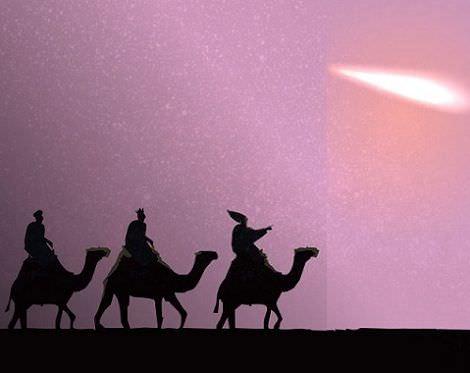tarjatas navideñas reyes estrella