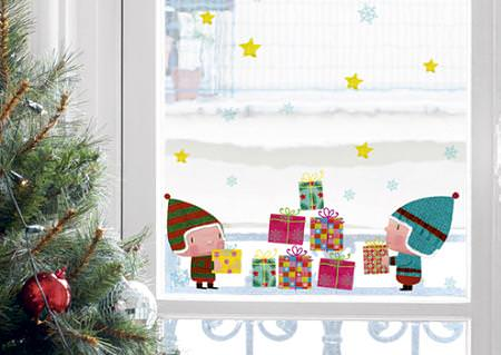 Vinilo infantil de Navidad