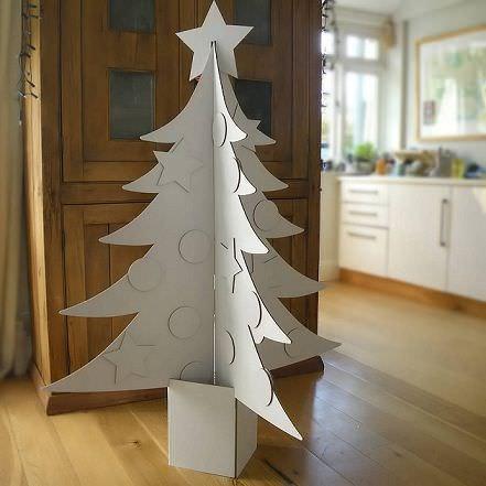 árboles navidad originales carton