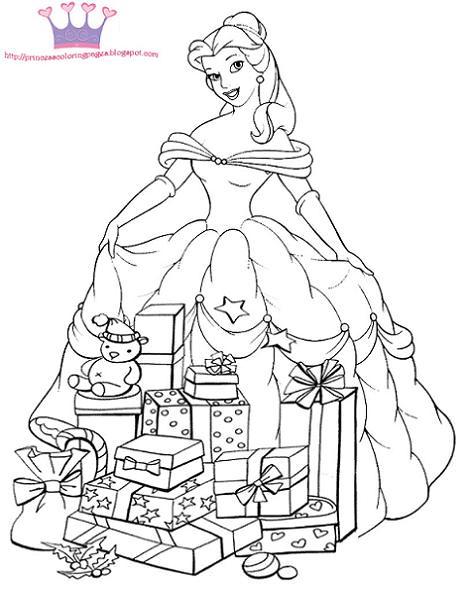 Colorear Navidad Disney