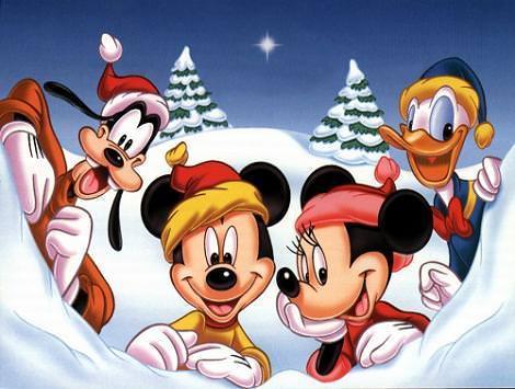 Fondo de pantalla navidad Disney