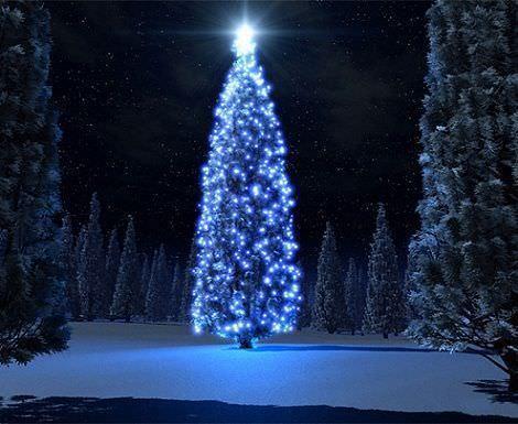fondos de pantalla navidad arbol