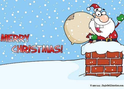 fondos de pantalla navidad chimenea