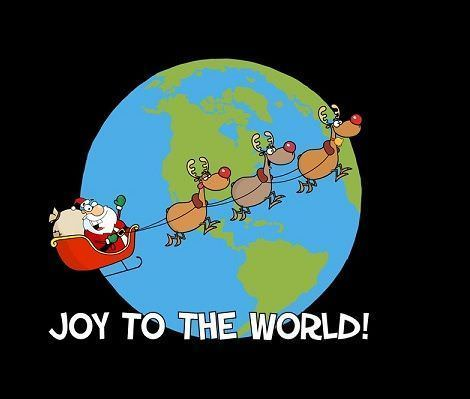 fondos de pantalla navidad papa noel