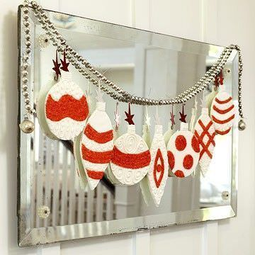 ideas decoracion navidad guirnalda