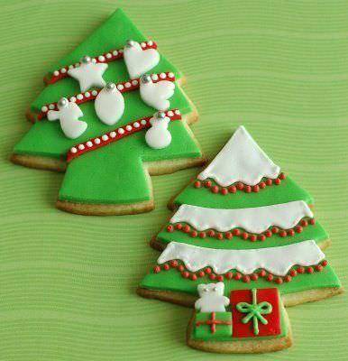 imagenes galletas navidad arbol