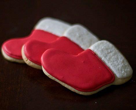 imagenes galletas navidad calcetin