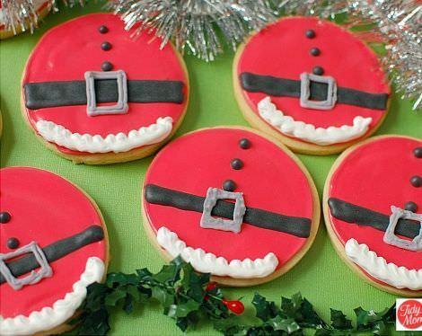 imagenes galletas navidad papa noel
