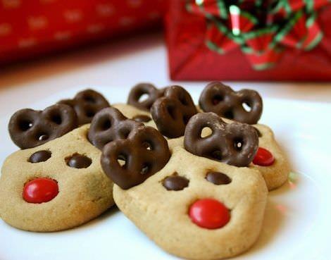 imagenes galletas navidad renos