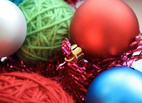 manualidades corona navidad